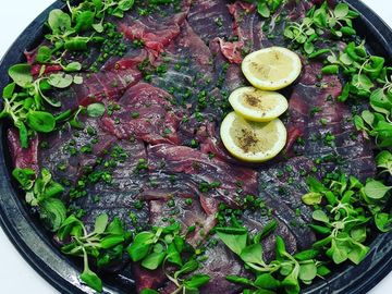 Thunfisch Carpaccio